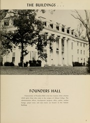 Page 7, 1960 Edition, Athens State College - Columns Yearbook (Athens, AL) online yearbook collection
