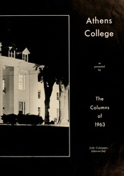 Page 7, 1963 Edition, Athens State College - Columns Yearbook (Athens, AL) online yearbook collection