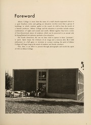 Page 9, 1963 Edition, Athens State College - Columns Yearbook (Athens, AL) online yearbook collection