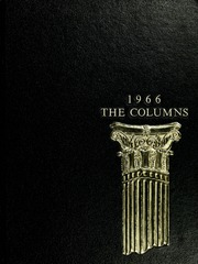 1966 Edition, Athens State College - Columns Yearbook (Athens, AL)