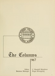 Page 5, 1967 Edition, Athens State College - Columns Yearbook (Athens, AL) online yearbook collection