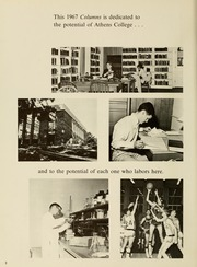 Page 6, 1967 Edition, Athens State College - Columns Yearbook (Athens, AL) online yearbook collection