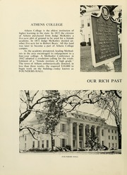 Page 6, 1969 Edition, Athens State College - Columns Yearbook (Athens, AL) online yearbook collection