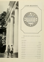 Page 5, 1970 Edition, Athens State College - Columns Yearbook (Athens, AL) online yearbook collection