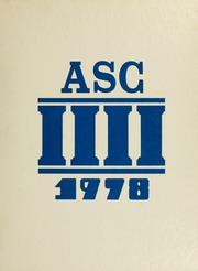 1978 Edition, Athens State College - Columns Yearbook (Athens, AL)