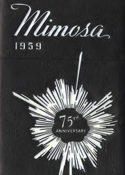Page 1, 1959 Edition, Jacksonville State University - Mimosa Yearbook (Jacksonville, AL) online yearbook collection