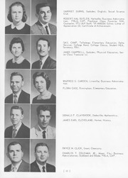 Page 54, 1959 Edition, Jacksonville State University - Mimosa Yearbook (Jacksonville, AL) online yearbook collection