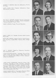 Page 59, 1959 Edition, Jacksonville State University - Mimosa Yearbook (Jacksonville, AL) online yearbook collection