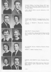 Page 62, 1959 Edition, Jacksonville State University - Mimosa Yearbook (Jacksonville, AL) online yearbook collection