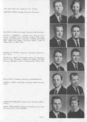 Page 63, 1959 Edition, Jacksonville State University - Mimosa Yearbook (Jacksonville, AL) online yearbook collection