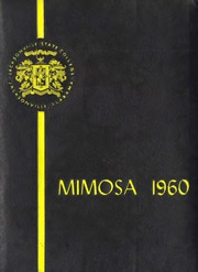 Page 1, 1960 Edition, Jacksonville State University - Mimosa Yearbook (Jacksonville, AL) online yearbook collection