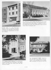 Page 12, 1960 Edition, Jacksonville State University - Mimosa Yearbook (Jacksonville, AL) online yearbook collection