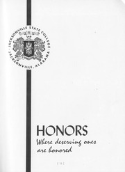 Page 15, 1960 Edition, Jacksonville State University - Mimosa Yearbook (Jacksonville, AL) online yearbook collection