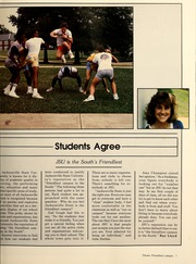 Page 11, 1987 Edition, Jacksonville State University - Mimosa Yearbook (Jacksonville, AL) online yearbook collection