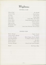 Page 12, 1958 Edition, Wright School for Girls - Wrightorian Yearbook (Mobile, AL) online yearbook collection