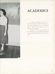 Page 13, 1960 Edition, Wright School for Girls - Wrightorian Yearbook (Mobile, AL) online yearbook collection
