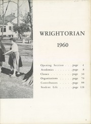 Page 7, 1960 Edition, Wright School for Girls - Wrightorian Yearbook (Mobile, AL) online yearbook collection