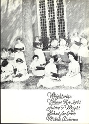 Page 5, 1961 Edition, Wright School for Girls - Wrightorian Yearbook (Mobile, AL) online yearbook collection