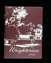 1966 Edition, Wright School for Girls - Wrightorian Yearbook (Mobile, AL)