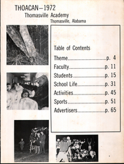 Page 7, 1971 Edition, Thomasville Academy - Thoacan Yearbook (Thomasville, AL) online yearbook collection