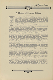 Page 11, 1914 Edition, Samford University - Entre Nous Yearbook (Birmingham, AL) online yearbook collection