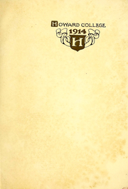 Page 3, 1914 Edition, Samford University - Entre Nous Yearbook (Birmingham, AL) online yearbook collection