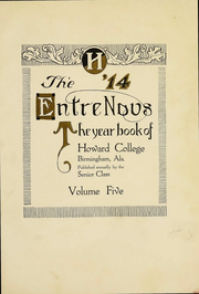 Page 4, 1914 Edition, Samford University - Entre Nous Yearbook (Birmingham, AL) online yearbook collection