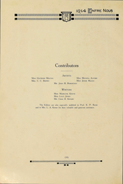 Page 8, 1914 Edition, Samford University - Entre Nous Yearbook (Birmingham, AL) online yearbook collection