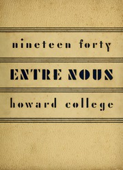 Page 1, 1940 Edition, Samford University - Entre Nous Yearbook (Birmingham, AL) online yearbook collection