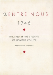 Page 5, 1946 Edition, Samford University - Entre Nous Yearbook (Birmingham, AL) online yearbook collection