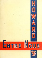 Samford University - Entre Nous Yearbook (Birmingham, AL) online yearbook collection, 1955 Edition, Page 1