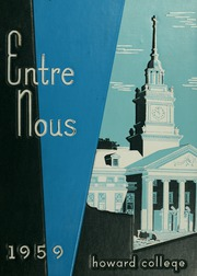 Samford University - Entre Nous Yearbook (Birmingham, AL) online yearbook collection, 1959 Edition, Page 1