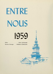 Page 16, 1959 Edition, Samford University - Entre Nous Yearbook (Birmingham, AL) online yearbook collection