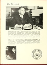 Page 16, 1966 Edition, Samford University - Entre Nous Yearbook (Birmingham, AL) online yearbook collection
