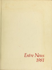 Samford University - Entre Nous Yearbook (Birmingham, AL) online yearbook collection, 1981 Edition, Page 1