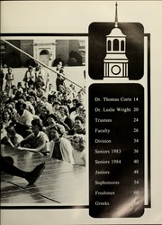 Page 17, 1984 Edition, Samford University - Entre Nous Yearbook (Birmingham, AL) online yearbook collection