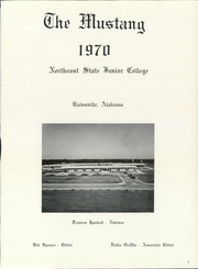 Page 5, 1970 Edition, Northeast Alabama Community College - Mustang Yearbook (Rainsville, AL) online yearbook collection