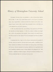 Page 8, 1961 Edition, Birmingham University School - Equestria Yearbook (Birmingham, AL) online yearbook collection