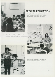 Page 35, 1982 Edition, Brookville Elementary School - Bears Yearbook (Graysville, AL) online yearbook collection