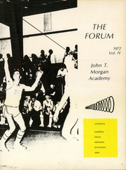 Page 5, 1972 Edition, John T Morgan Academy - Forum Yearbook (Selma, AL) online yearbook collection
