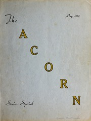 Page 1, 1939 Edition, Oakwood University - Acorn Yearbook (Huntsville, AL) online yearbook collection