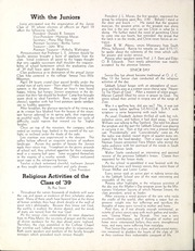 Page 16, 1939 Edition, Oakwood University - Acorn Yearbook (Huntsville, AL) online yearbook collection