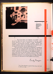 Page 6, 1963 Edition, Southeastern Bible College - Gateway Yearbook (Birmingham, AL) online yearbook collection