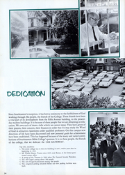 Page 15, 1968 Edition, Southeastern Bible College - Gateway Yearbook (Birmingham, AL) online yearbook collection