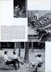 Page 5, 1968 Edition, Southeastern Bible College - Gateway Yearbook (Birmingham, AL) online yearbook collection