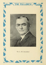 Page 12, 1929 Edition, Troy University - Palladium Yearbook (Troy, AL) online yearbook collection