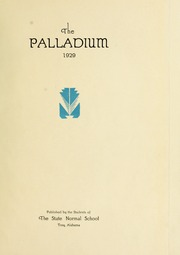 Page 5, 1929 Edition, Troy University - Palladium Yearbook (Troy, AL) online yearbook collection