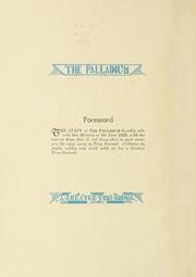 Page 6, 1929 Edition, Troy University - Palladium Yearbook (Troy, AL) online yearbook collection