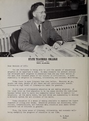 Page 12, 1951 Edition, Troy University - Palladium Yearbook (Troy, AL) online yearbook collection