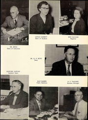 Page 17, 1953 Edition, Troy University - Palladium Yearbook (Troy, AL) online yearbook collection
